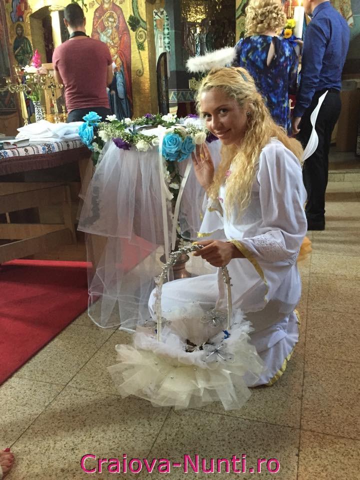 Ingeras botez biserica Craiova