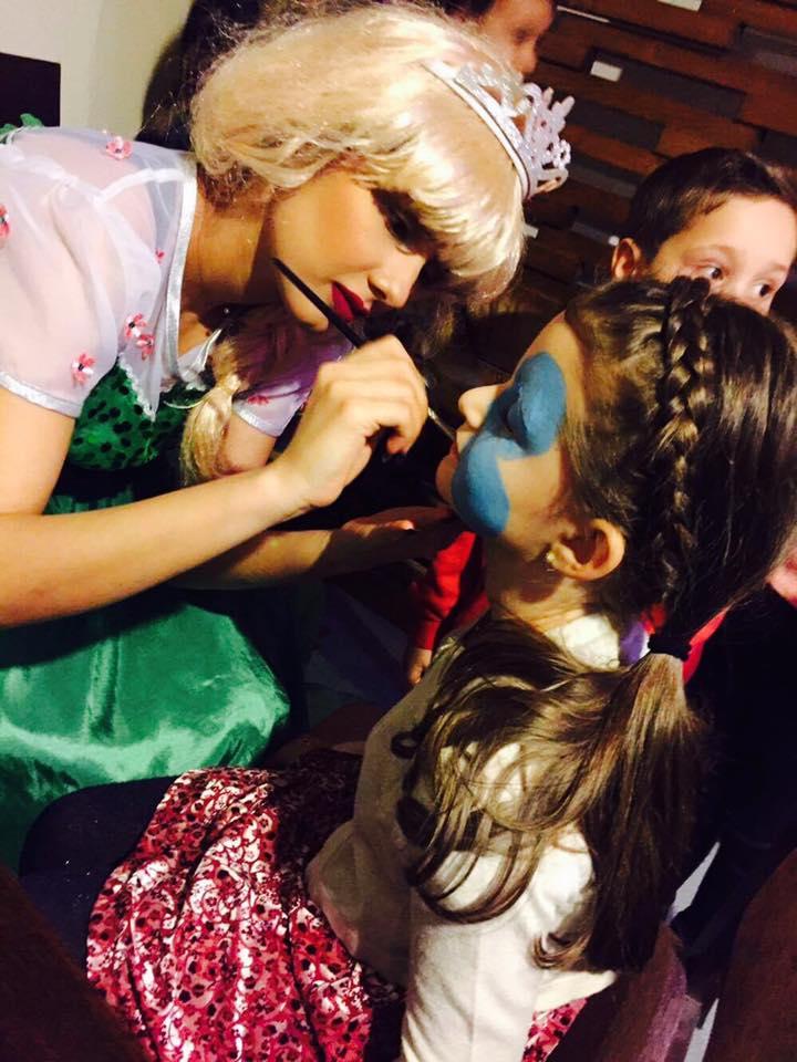 Petreceri copii face painting Craiova